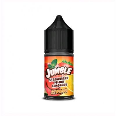 Купить ЖДЭС на соли джамбл (jumble) клубника фейхоа лемонад 30 мл 20 мкг стронг 2023 в Уфе в магазине Tabakos