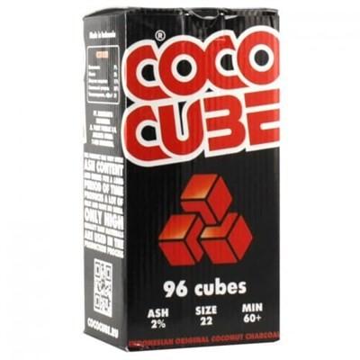 Купить Уголь кокосовый кококуб (сococube) 96 шт в Уфе в магазине Tabakos