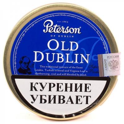 Купить Табак трубочный петерсон (Peterson) старый дублин (old dublin) ж/б 50 гр в Уфе в магазине Tabakos