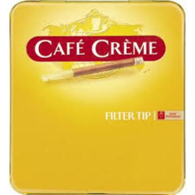 Купить Сигариллы кафе крим оригинал с мундштуком (cafe creme) в Уфе в магазине Tabakos
