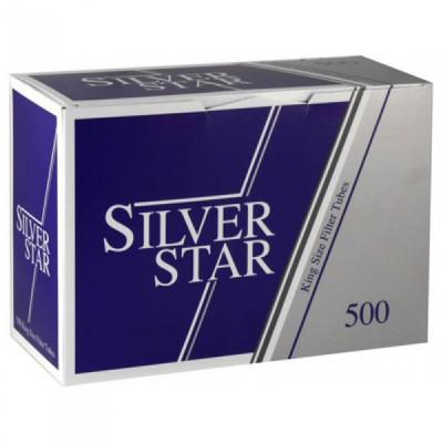 Купить Гильзы сигаретные сильвер стар (silver star) 500 шт в Уфе в магазине Tabakos