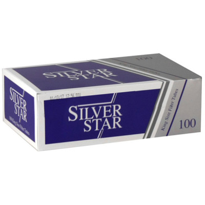 Купить Гильзы сигаретные сильвер стар (silver star) 100 шт в Уфе в магазине Tabakos