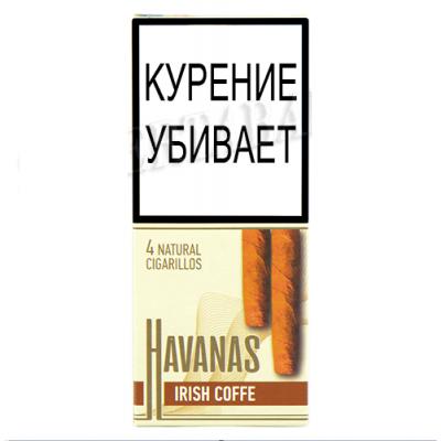 Купить Сигариллы гавана (havanas) ирландский кофе в Уфе в магазине Tabakos