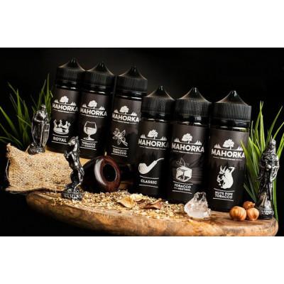 Купить ЖДЭС на соли махорка (machorka) королевская 50/50 30 мл 20 мкг дабл тх 2022 в Уфе в магазине Tabakos