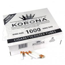 Гильзы сигаретные корона (korona) кинг сайз (1000 шт)