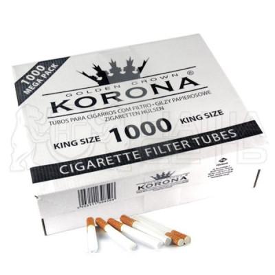 Купить Гильзы сигаретные корона (korona) кинг сайз (1000 шт) в Уфе в магазине Tabakos