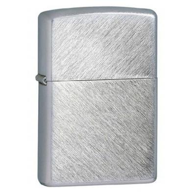 Купить Зажигалка зиппо (zippo) серебристая матовая елочка 24648 в Уфе в магазине Tabakos