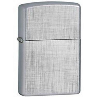 Купить Зажигалка зиппо (zippo) классик с покрытием брушед хром серебристая матовая 28181 в Уфе в магазине Tabakos