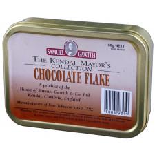 Табак трубочный самуэль гевит (Samuel Gawith) Chocolate Flake шоколадный флейк ж\б 50 гр.