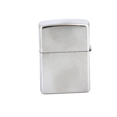 Купить Зажигалка зиппо (zippo) классик с покрытием сатин хром серебристая матовая 205 в Уфе в магазине Tabakos
