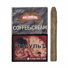 Сигариллы палермино (palermino) кофе со сливками 5 шт