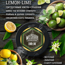Табак кальянный маст хев (must have) лимон и лайм 25 гр