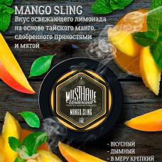 Табак кальянный маст хев (must have) манго с пряностями 25 гр