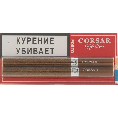 Купить Сигариллы корсар (Corsar) блистер порто 2 шт в Уфе в магазине Tabakos