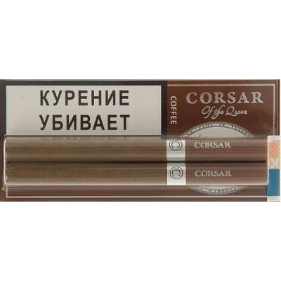 Купить Сигариллы корсар (Corsar) блистер кофе 2 шт в Уфе в магазине Tabakos