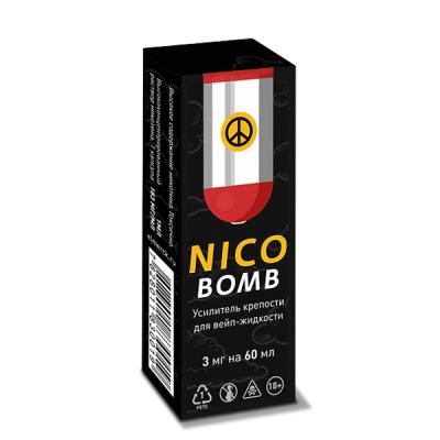 Купить Никотин (nicobomb)183 мг/мл 1 мл в Уфе в магазине Tabakos