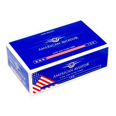 Купить Гильзы сигаретные американский авиатор 100шт (american aviator) в Уфе в магазине Tabakos