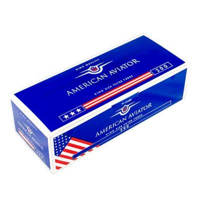 Купить Гильзы сигаретные американский авиатор 200шт (american aviator) в Уфе в магазине Tabakos