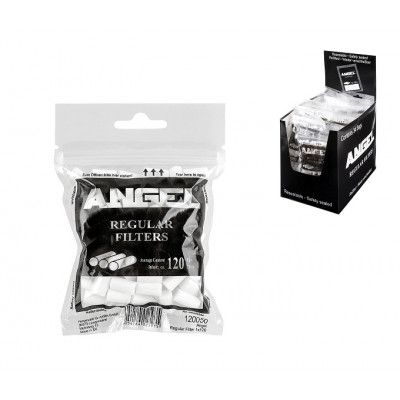 Купить Фильтр сигаретный ангел регуляр 8 мм (120) в Уфе в магазине Tabakos