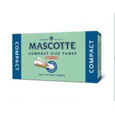 Гильзы сигаретные маскотте (mascotte) компакт 120 шт