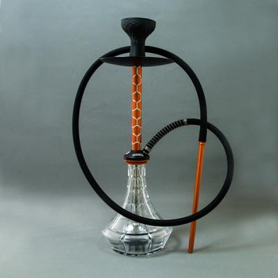 Купить Кальян базука (Bazooka) джокер оранжевый рельефная колба в Уфе в магазине Tabakos
