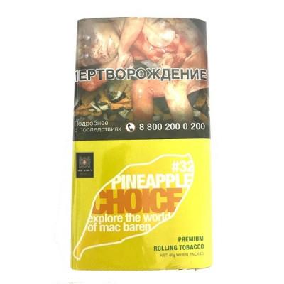Купить Табак сигаретный мак барен (MAC BAREN) ананас 40 гр в Уфе в магазине Tabakos