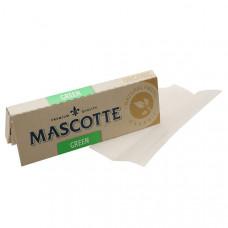 Бумага сигаретная маскот (mascotte) зеленый органик 18 г/м
