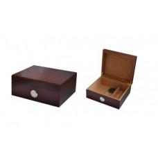 Хьюмидор на 20 сигар анжело (angelo) увлажнитель,гидрометр 92004