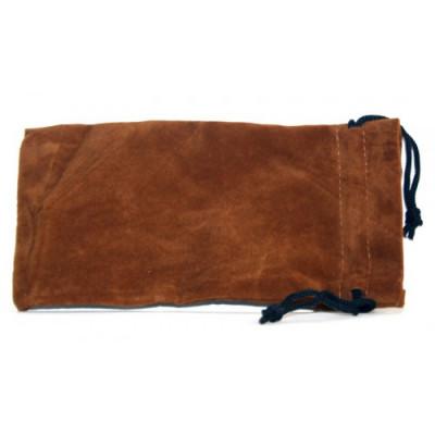 Купить Кисет для трубки велюр светло-коричневый 18*9,5 см в Уфе в магазине Tabakos