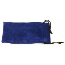 Кисет для трубки велюр синий 18*9,5 см