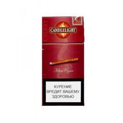 Купить Сигариллы свечка вишня мини 10 шт (candelight) в Уфе в магазине Tabakos