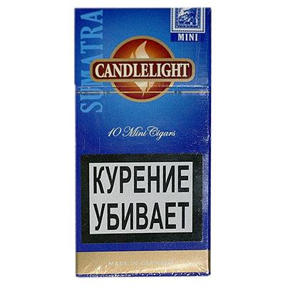 Купить Сигариллы свечка (candlelight) суматра мини 10 шт в Уфе в магазине Tabakos