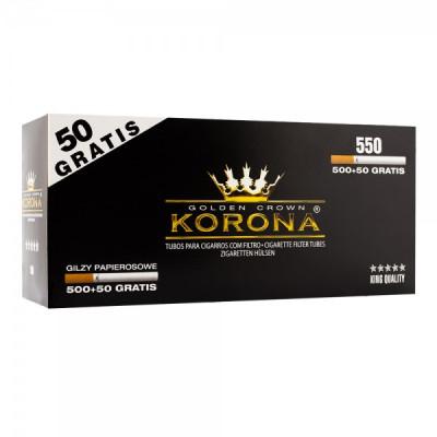 Купить Гильзы сигаретные корона (korona) кинг сайз (550 шт)  в Уфе в магазине Tabakos