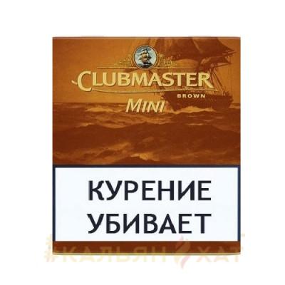 Купить Сигариллы клубмастер мини браун (шоколад) 10 шт в Уфе в магазине Tabakos