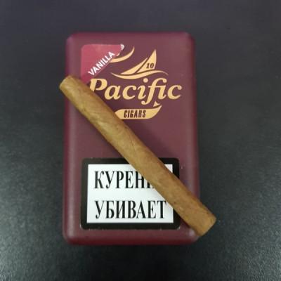 Купить Сигариллы неос пацифик ароматик ванилла 10 шт в Уфе в магазине Tabakos