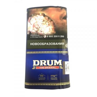 Купить Табак сигаретный барабан (drum) оригинал 30 гр в Уфе в магазине Tabakos
