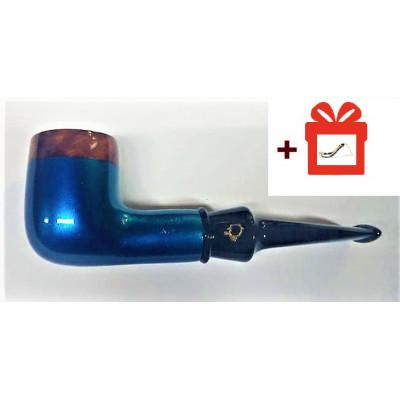 Купить Трубка лорензетти блю бриар (9мм) 05 (lorenzetti) + подставка в Уфе в магазине Tabakos
