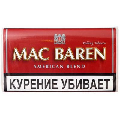 Купить Табак сигаретный мак барен (MAC BAREN) американ бленд 40 гр в Уфе в магазине Tabakos