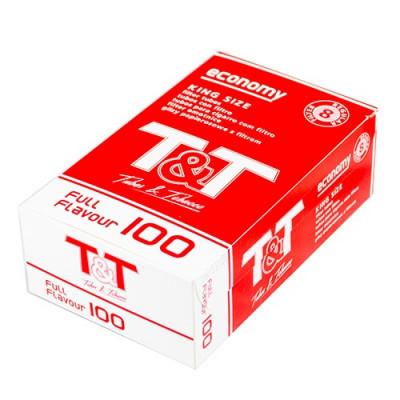 Купить Гильзы сигаретные Т&Т 100 шт в Уфе в магазине Tabakos