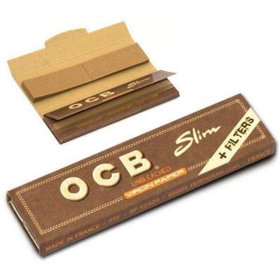 Купить Бумага сигаретная ОКБ (ocb) премиум слим неотбеленая в Уфе в магазине Tabakos