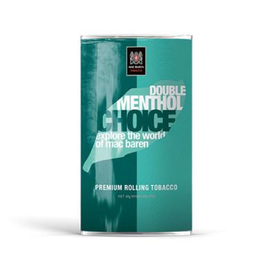 Купить Табак сигаретный мак барен (MAC BAREN) двойной ментол 40 г в Уфе в магазине Tabakos