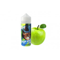 ЖДЭС просто обезьяна (frankly monkey) ледяное кислое яблоко 70/30 120 мл 3 мкг 2022