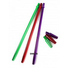 Мундштук для кальяна базука (bazooka) металл цветной