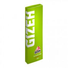 Бумага сигаретная гизех (gizeh) супер файн зеленая