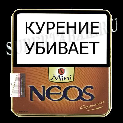 Купить Сигариллы неос мини (Neos mini) капучино 10 шт ж/б в Уфе в магазине Tabakos