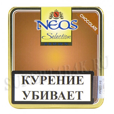 Купить Сигариллы неос мини (Neos mini) шоколад 10 шт ж/б в Уфе в магазине Tabakos