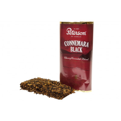 Купить Табак трубочный петерсон (Peterson) потомки моря черный (connemara black) кисет 50 гр в Уфе в магазине Tabakos