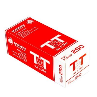 Купить Гильзы сигаретные Т&Т 250 шт в Уфе в магазине Tabakos