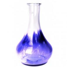 Колба для кальяна дроп (drop) выс.27 см. синяя