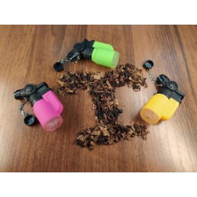Купить Зажигалка LTR автоген турбо прорезиненная цветная в Уфе в магазине Tabakos